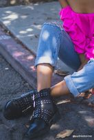 Forever 21 FOREVER 21+ Buckled Stud Ankle Boots
