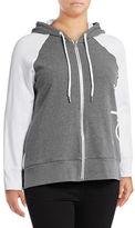 Calvin Klein Performance Plus Raglan Sleeve Logo Hoodie