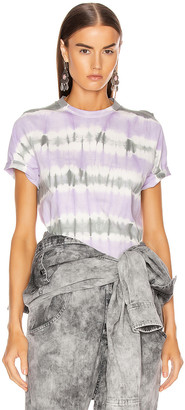 Etoile Isabel Marant Dena Tee Shirt in Lilac | FWRD