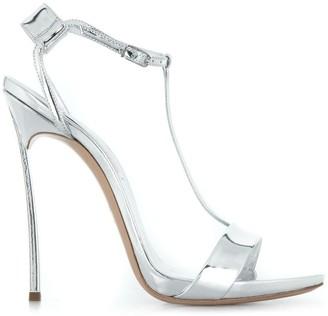 Casadei T-bar stiletto sandals