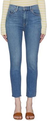 GRLFRND 'Reed' Dark Wash Cigarette Jeans