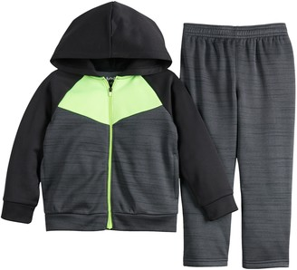 Toddler Boy Jumping Beans Hoodie & Athletic Pants Set