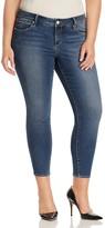 SLINK Jeans Summer Ankle Length Skinny Jeans in Dark Blue