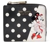 Kate Spade kate spde new york Disney x Minnie Mouse Small Bifold Wallet