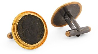 Brooski Roman Empire Coin V Cufflinks