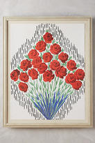 Anthropologie French Bouquet Wall Art