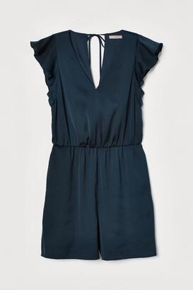H&M Flutter-sleeved playsuit