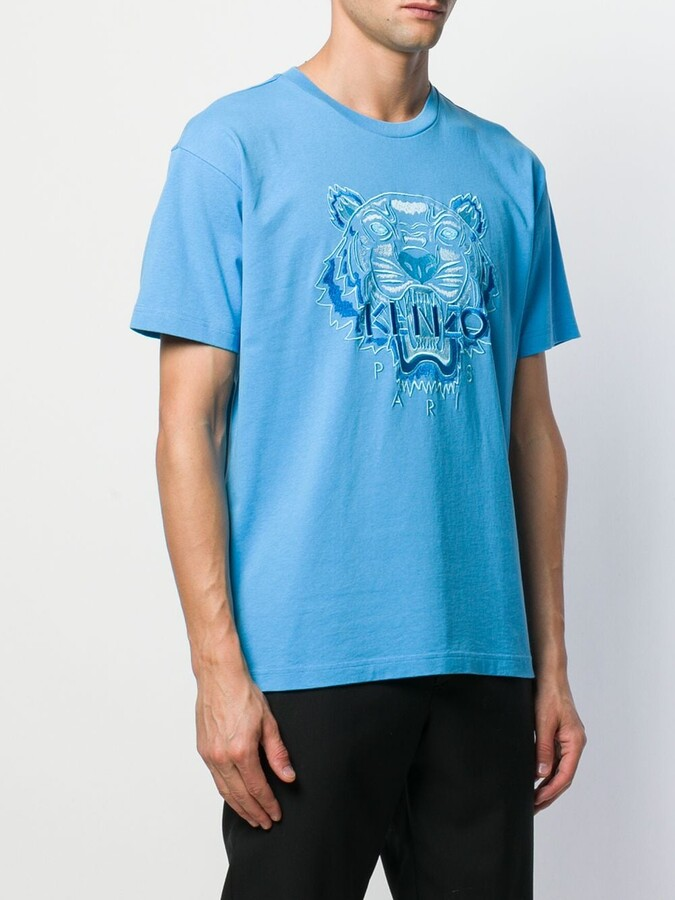 Thumbnail for your product : Kenzo embroidered tiger T-shirt