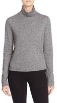 See by Chloe Women's Sheer Back Long Sleeve Turtleneck Sweater