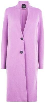 SET Button Front Coat