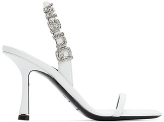 Alexander Wang White Ivy Heeled Sandals