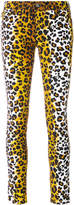 Love Moschino leopard print skinny jeans