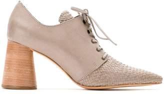 Sarah Chofakian Mocha ankle boots