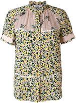 Coach floral print shortsleeved shirt - women - Silk - 2