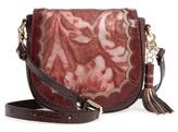 Brahmin Verona Mini Sonny Leather Crossbody Bag - Red