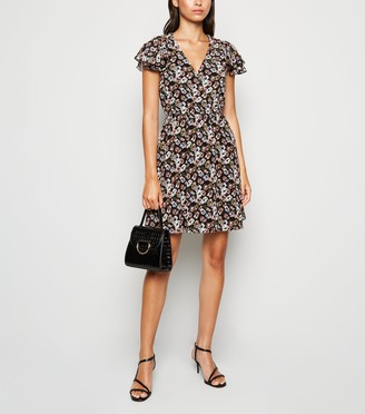 New Look Mela Floral Mini Dress