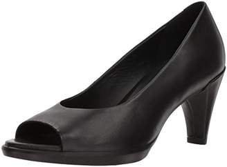 Ecco Women's Shape 55 Open Toe Heels, Black (Black 1001)