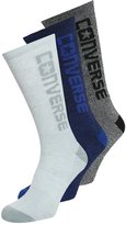 Converse 3 Pack Socks White/black /blue