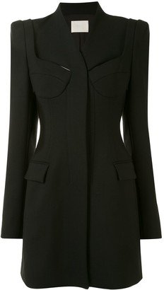 Dion Lee Tailored Bra Blazer Dress
