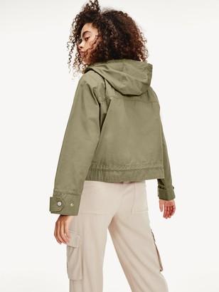 Tommy Jeans Waist Detail Jacket - Khaki