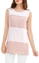 Vince Camuto Women's Mixed Media Tank