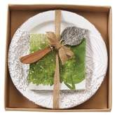 Mud Pie Hydrangea 3-Piece Cheese Set
