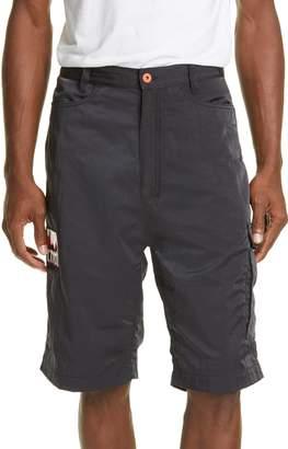 Heron Preston CTNMB Baggy Nylon Cargo Shorts