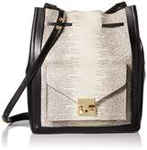 Loeffler Randall Lock Drawstring Cross Body Bag