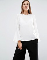 Selected Bell Sleeve Top