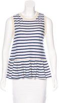 The Great Striped Sleeveless Top w/ Tags