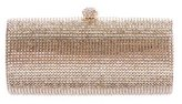 Jimmy Crystal Embellished Push-Lock Clutch