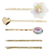 Capelli of New York 5-Pack Embellished Bobby Pins