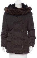 Louis Vuitton Fur Trimmed Short Coat