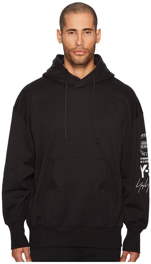 Yohji Yamamoto Graphic Hoodie Men's Sweatshirt