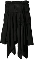Loewe off-shoulder blouse - women - Linen/Flax/Viscose - 36