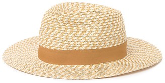14th & Union Mixed Weave Straw Panama Hat
