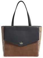 Kate Spade Spencer Court Archie Leather Tote - Black