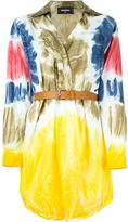 DSQUARED2 tie-dye shirt dress