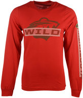 Reebok Men's Long-Sleeve Minnesota Wild Lineup T-Shirt