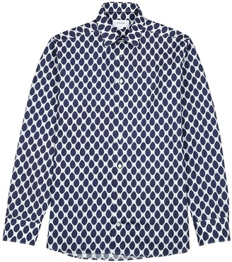 Eton Printed slim-fit cotton shirt