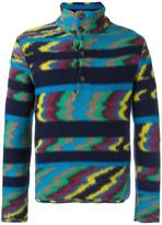 Missoni zig-zag pattern sweater