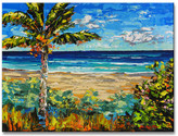 "Ready2hangart Ready2HangArt 'Sugar Beach' by Sarah LaPierre Canvas Art, 20""x30"""