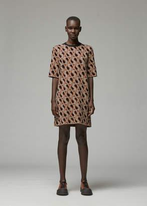 Marni Short Sleeve Printed Dress