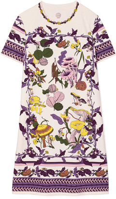 Tory Burch Mushroom Party T-Shirt Dress