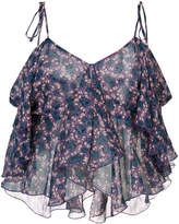 Anna Sui cropped tank top