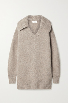 Co Oversized Alpaca-blend Sweater - Mushroom