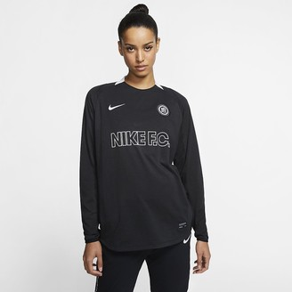 Nike Womens Long-Sleeve Soccer Jersey F.C
