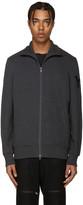 Y-3 Grey Funnel Neck Sweatshirt