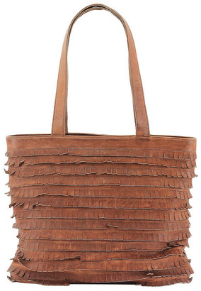 Prairie PRM201 Fringe Double Handle Tote Bag