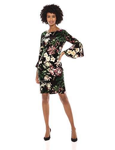2156cfc1d969 Calvin Klein Black Bell Sleeve Dresses - ShopStyle